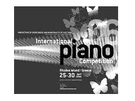 International Piano Competition 2006 in Rhodes