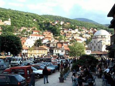 Kalaja is the fortress of Prizren, named after it is the district of the old town