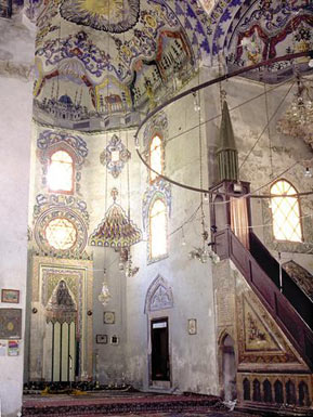 Sinan Pasha Mosque - the mihrab