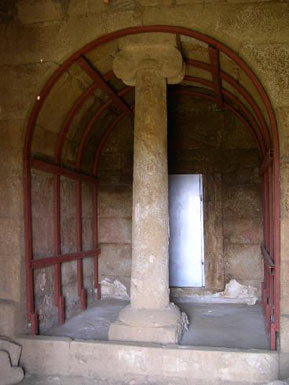 The entrance to the Shoushmanets Tomb