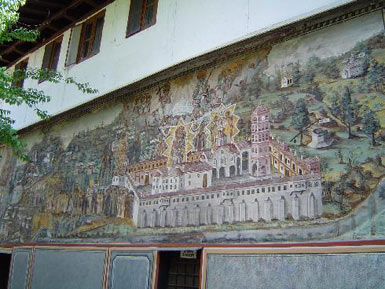 Fresco from the monastery