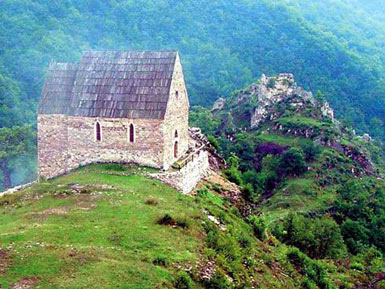 Burial Chapel of Bosnian Kingswith the complex of Royal Palaces