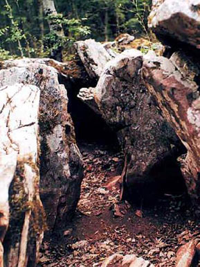 The dolmen at Zabernovo