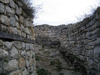The entrance to the fortress
