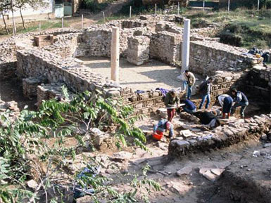 Archeological excavations in Crkvishte