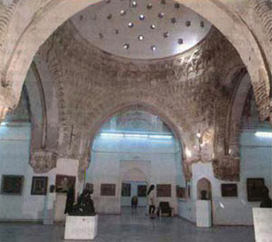 Interior of Daut Pasha Hammam