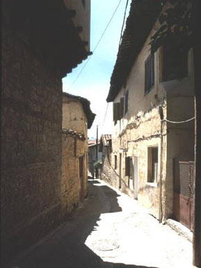 Narrow street in Veroia