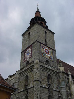 Brasov Cathedral, Clock Tower