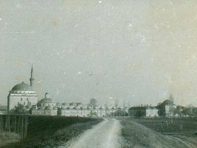 Old picture of the complex