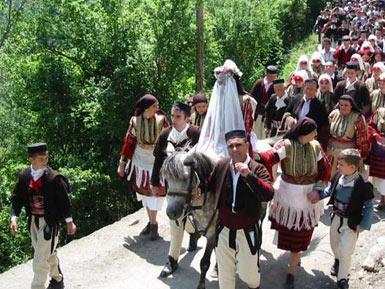 The Bride Procession