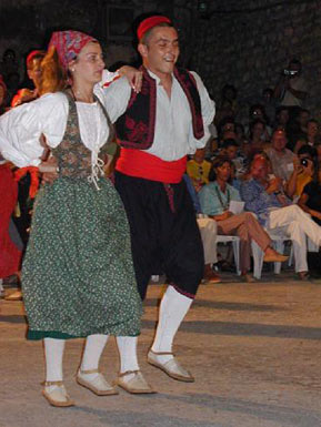 Dancers from Korcula