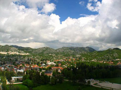 View from Cetinje
