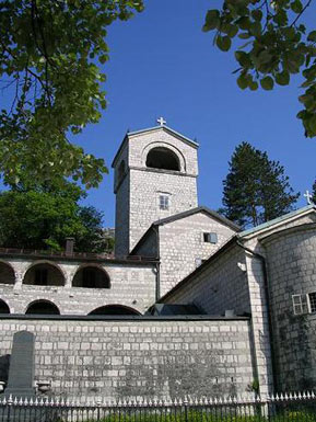 The Monastery of St. Peter, built in 1701. Here are kept the relics of St. Peter of Cetinje. Museum of the monastery is the most significant museum of Montenegro