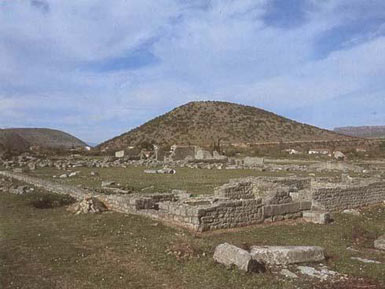 Ancient Roman town of  Doclea (Duklja)