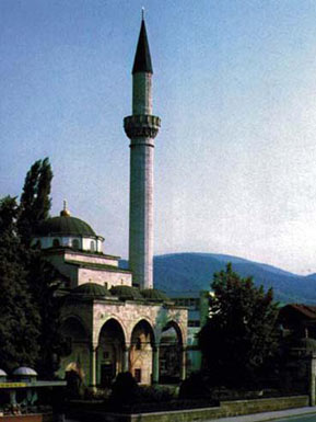 Ferhadija mosque in Banja Luka before destruction