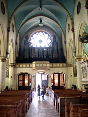 Interior of the Cathedral - view to the choir