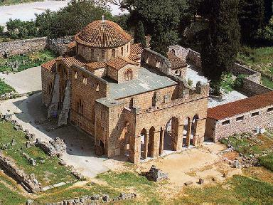 The Monastery of Daphni - the Catholicon