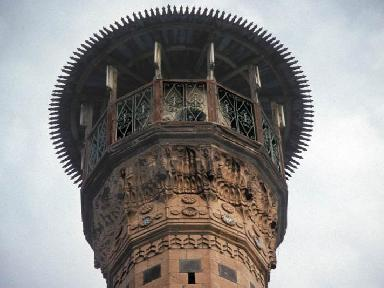 The minaret of the Ulu or Great Mosque