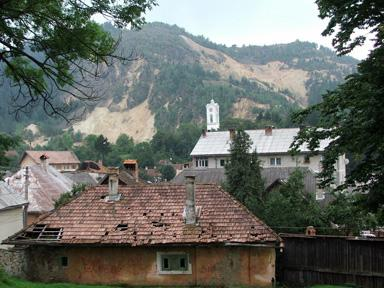 View from  Rosia Montana