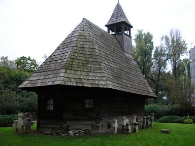 Wooden church - Museum of the Romanian Peasant