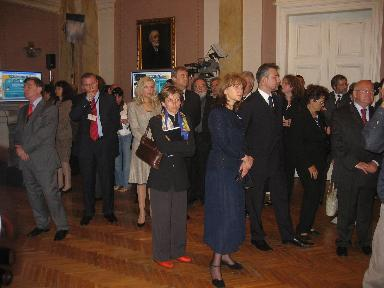 Official opening of the Multimedia Exhibition