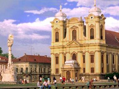 Picture of The Catholic Cathedral of Timisoara