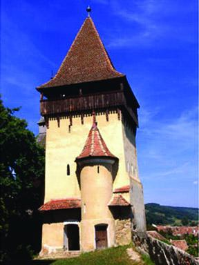 Defence Tower of Fortified Church of Biertan