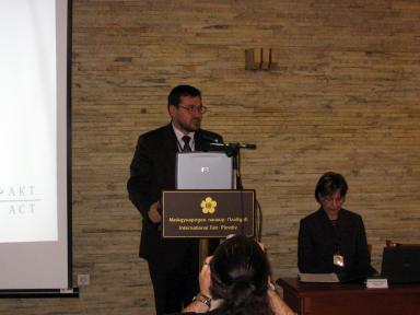 Welcoming speech by the Mayor of Plovdiv, Mr. Slavcho Atanasov