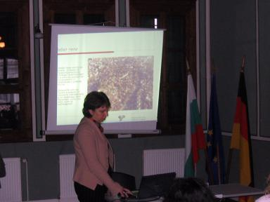 Presentation by arch. Galia Krusteva during the second day of the Regional Forum