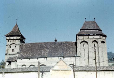 Valea Viilor Fortified Church, South Front