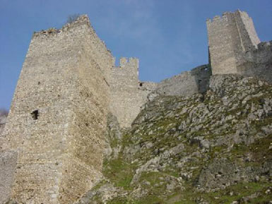 Tower of Golubac Fortress