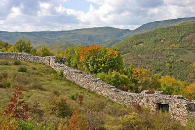 Stari Ras - remains from the fortifications
