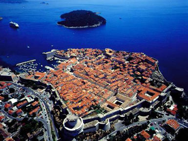 Dubrovnik, The Old city core