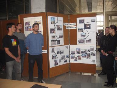 Presentation of a part of the Exhibition