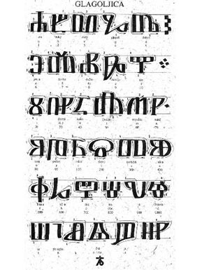Glagolitic alphabet