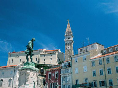 Piran, Tartini's coastal town