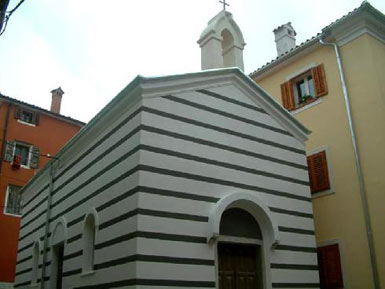 Chapel of  St Ivan, Izola