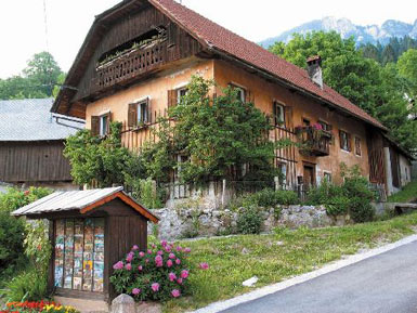 Gorenjska Region traditional house