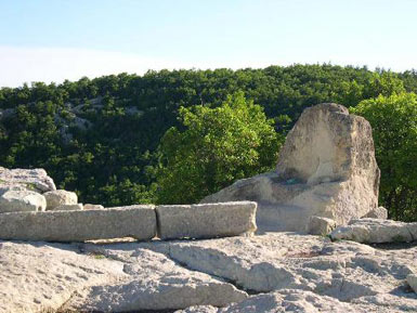 Throne on Perperikon