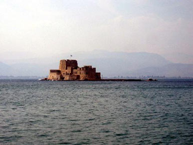 The fortress in the bay