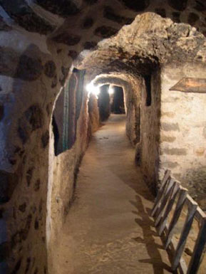 The tunnels of Kordopoulova house
