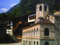 The Monastery of St. John of Bigor near Debar