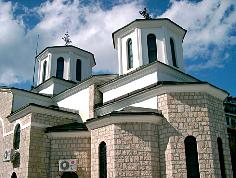 The Monastery of Kalishta near Struga